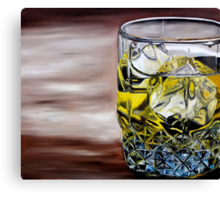 Scotch on the Rocks Canvas Print