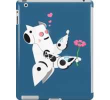 The Adorable Robotic Proposal  iPad Case/Skin