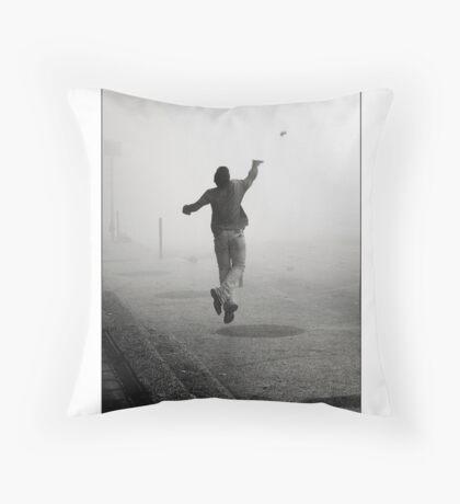 The Athlete Throw Pillow