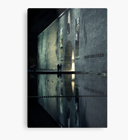 Portal reflection Metal Print