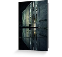 Portal reflection Greeting Card