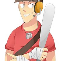 Scout Team Fortress 2 by ShinyhunterF