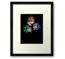 Life's Hardest Choice Framed Print