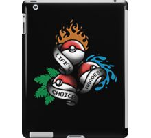 Life's Hardest Choice iPad Case/Skin