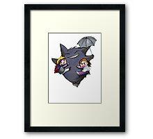 Totoro Pokemon Framed Print