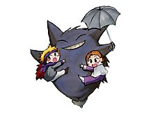 Totoro Pokemon Photographic Print