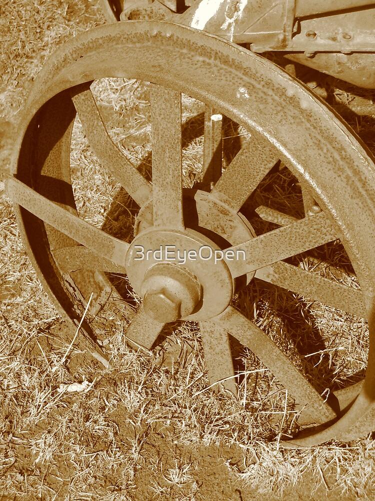 Rusty Wheels 2 by 3rdEyeOpen