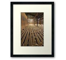 Shearing Shed  Framed Print