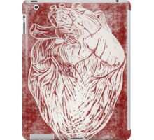 Scratched Heart iPad Case/Skin