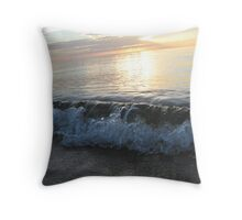Breaking Serenity Throw Pillow