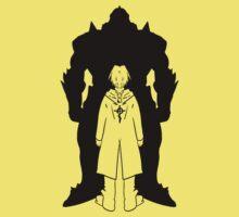 Brotherood (BLACK) - FullMetal Alchemist One Piece - Short Sleeve