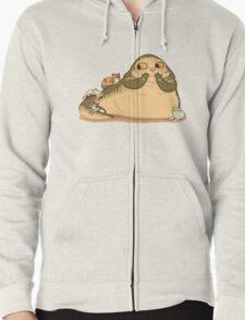 Jabba the CUTE Zipped Hoodie