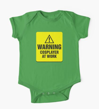 Warning Cosplayer at Work One Piece - Short Sleeve