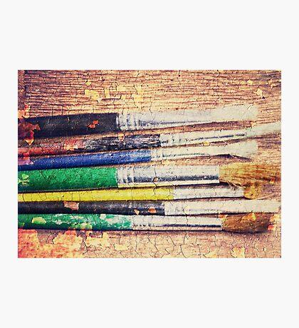 Paintbrushes Photographic Print