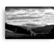 Swaledale Valley Canvas Print