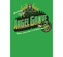 Greetings from Angel Grove! (Green Ranger) Photographic Print