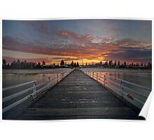 Sunrise On Grange Poster