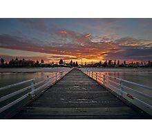Sunrise On Grange Photographic Print