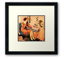 Attendent at the Rhodes Framed Print