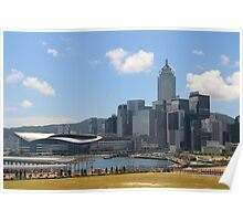 View of Causeway Bay - Hong Kong. Poster
