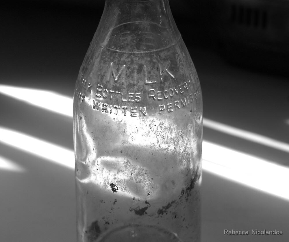 Milk Bottle by Rebecca  Nicolandos