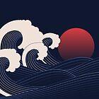 Japanese Sunset by Orce Vasilev
