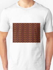 Red Hot and Charred - Horizontal Unisex T-Shirt