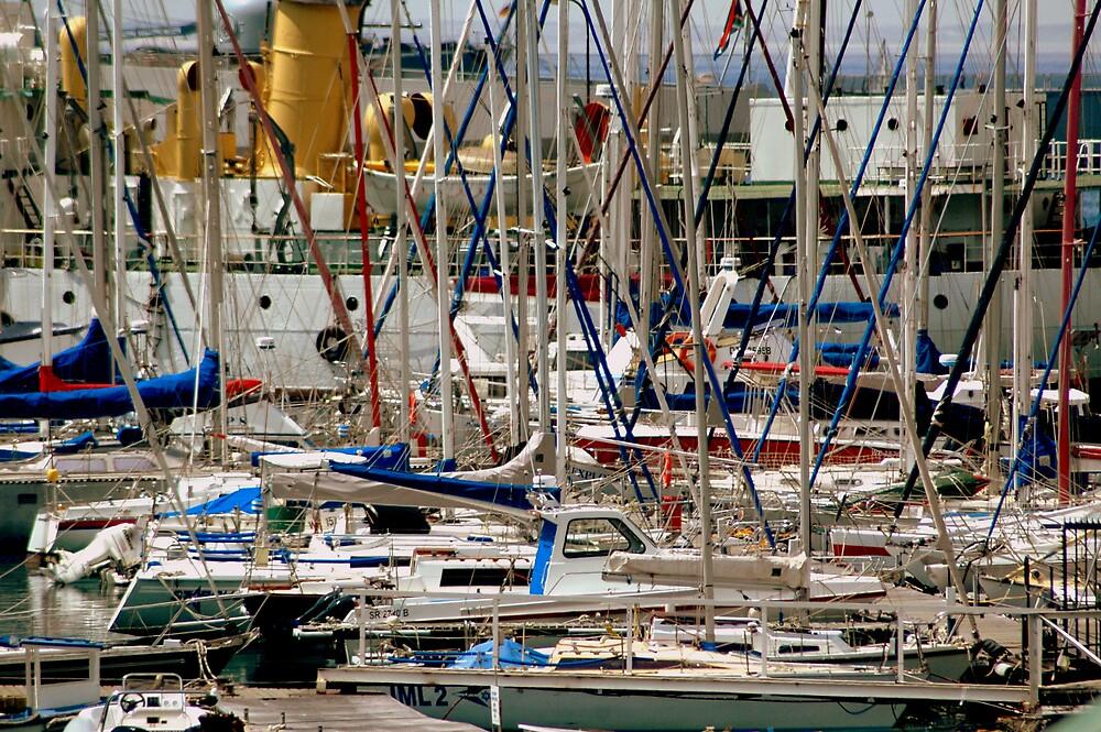 Cape Town Dock by Steven Zan