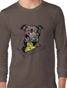 Pitbull BSL Black Long Sleeve T-Shirt