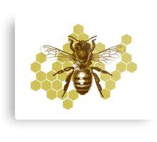 Bumble Hive Metal Print