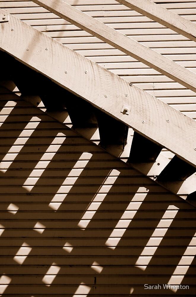 showground stairs by Sarah Wheaton