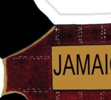 Commonwealth Games Scottie Dog 'Jamaica' Sticker
