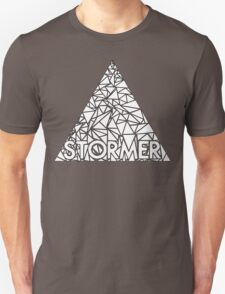storming the white triangle T-Shirt