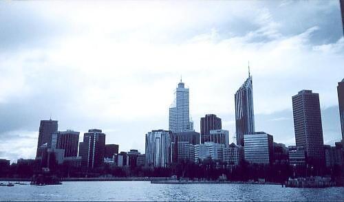 Perth Skyline by Justinryna2day
