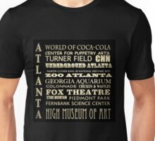 Atlanta Georgia Famous Landmarks Unisex T-Shirt