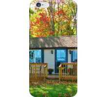 The Wee Cottage ~ Lake Ontario Autumn iPhone Case/Skin