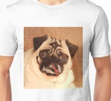 Pug with Glitter Unisex T-Shirt
