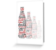 The Coke Project Greeting Card