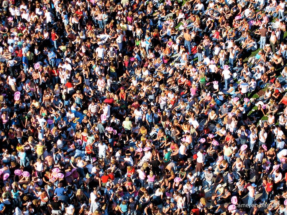 crowd  by cameron barnett