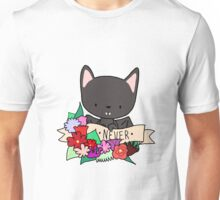 Black Bat, NEVER! Unisex T-Shirt