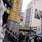 Punks and Emos outside Flinders Station by enigmatic