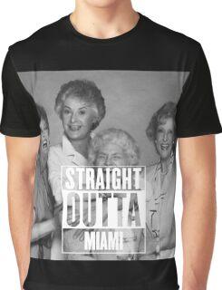 Straight Outta Miami Graphic T-Shirt