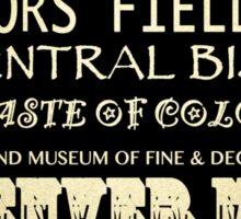 Denver Colorado Famous Landmarks Sticker