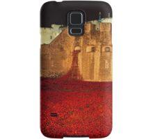 Poppies at theTower of London -  Night Panorama Samsung Galaxy Case/Skin