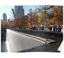 9/11 Memorial and Park, Lower Manhattan, New York City Poster