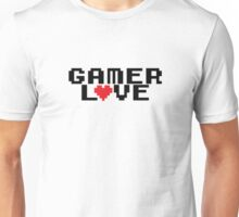 Gamer love Unisex T-Shirt