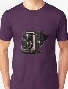 Feline Photographer Unisex T-Shirt