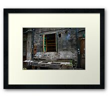 Lilong House Framed Print