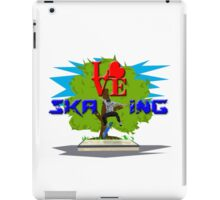 LOVE Skating iPad Case/Skin