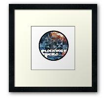 Clockwork Indigo - Flatbush Zombies - The Underachievers Framed Print